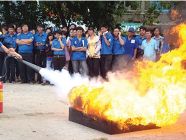 Fire Prevention Training Long Hai Group
